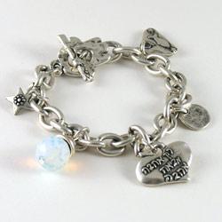 Danon All I Need is Love Charm Bracelet