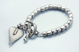 danon chunk bracelet wth heart